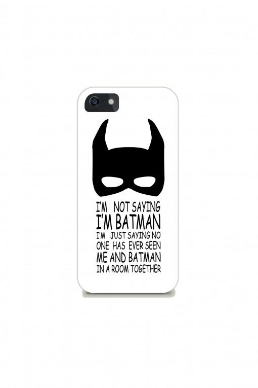 Phone case I'm Batman