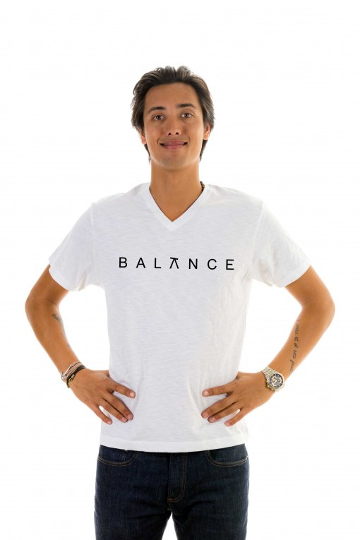 T-shirt v-neck Balance