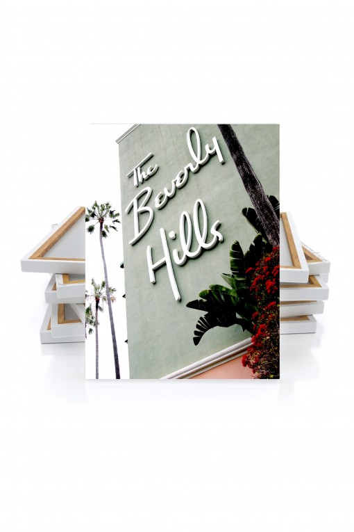 H. Canvas The Beverly Hills - California - Usa By Emmanuel Catteau