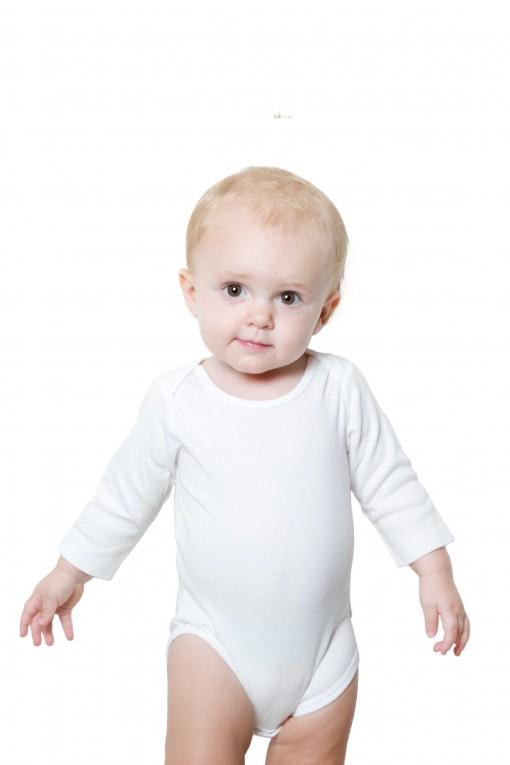 1. Baby romper for Custom - White - Starting 65 AED