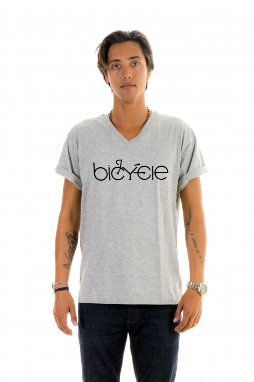 T-shirt v-neck Bicycle
