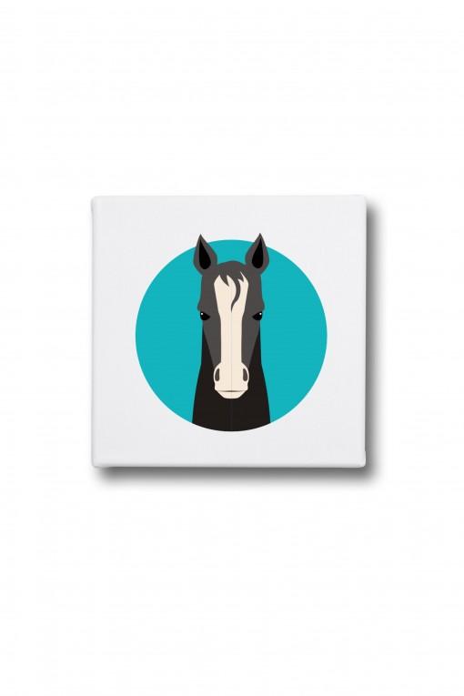Canvas Horse
