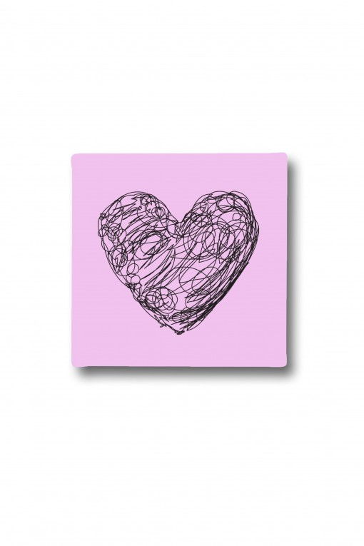 Canvas Drawing Heart