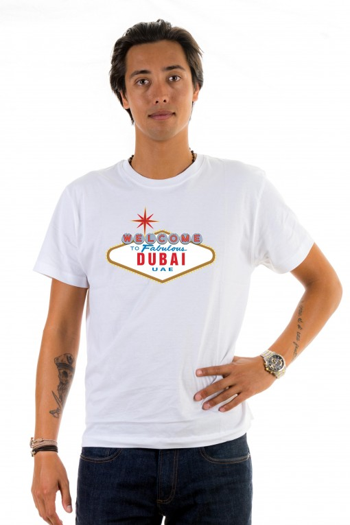T-shirt  Welcome to Fabulous Dubai