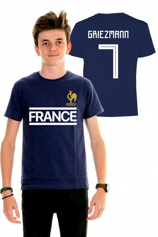 new styles b6c30 b6465 T-shirt World Cup 2018 - France, Griezmann 7