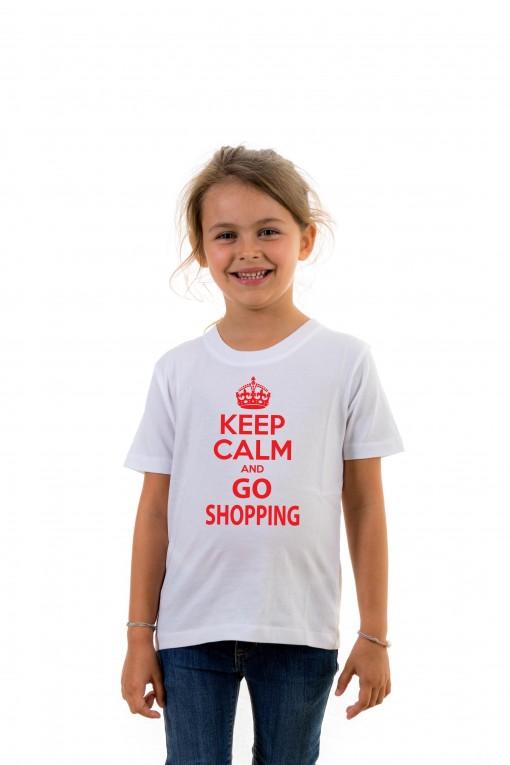 T-shirt Kid Keep calm and go shopping