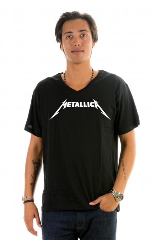T-shirt v-neck Metallica