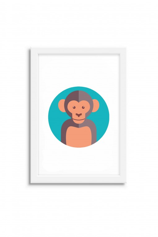 Poster with frame Monkey