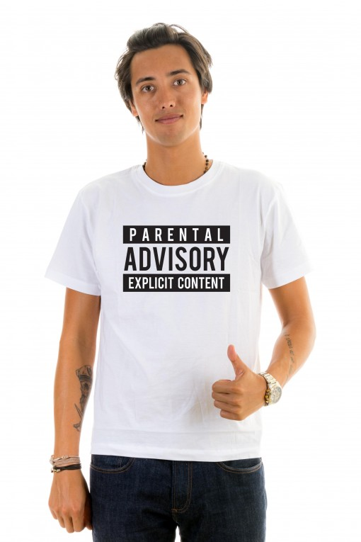 T-shirt Parental Advisory Explicit Content