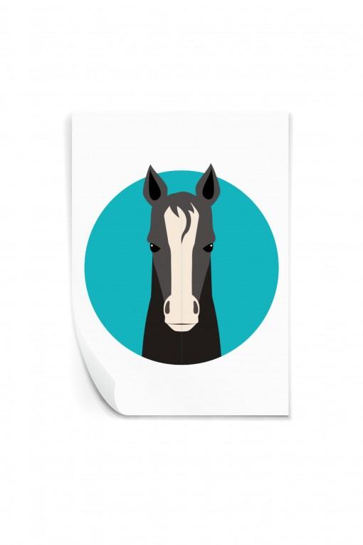 Reusable sticker Horse