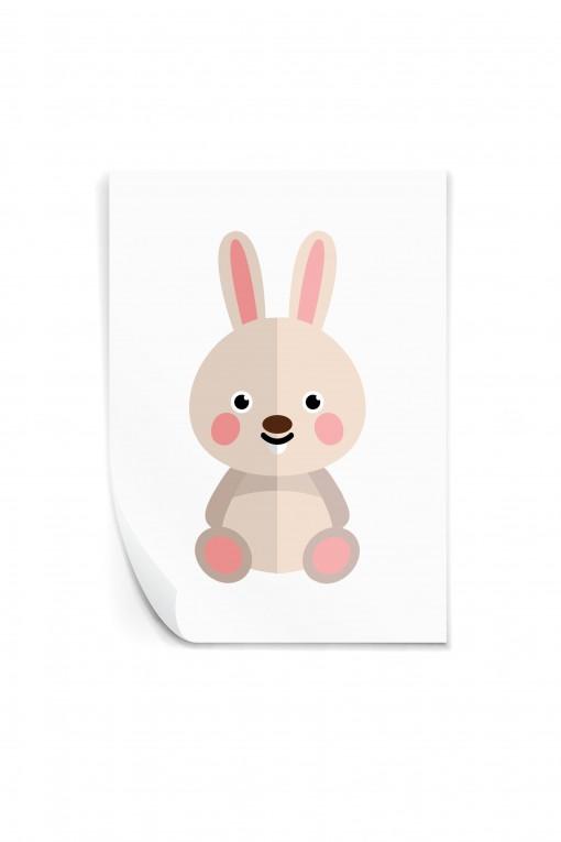 Reusable sticker Rabbit