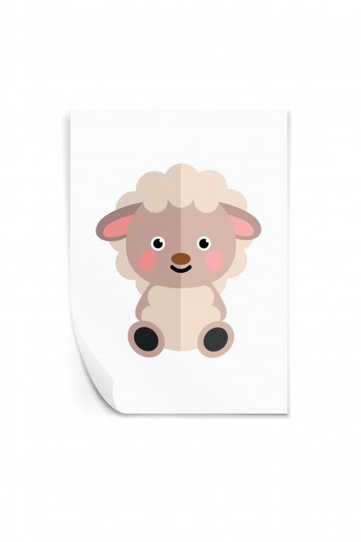 Reusable sticker Sheep