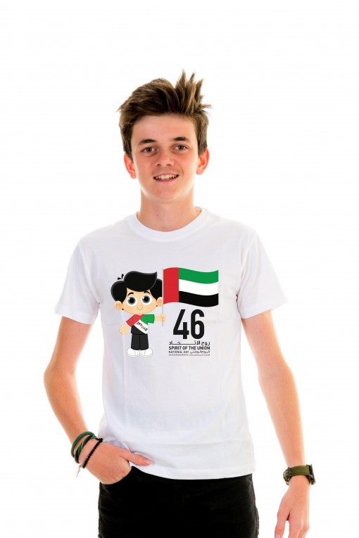 T-shirt Kid Spirit Of The Union 46 - Little Boy