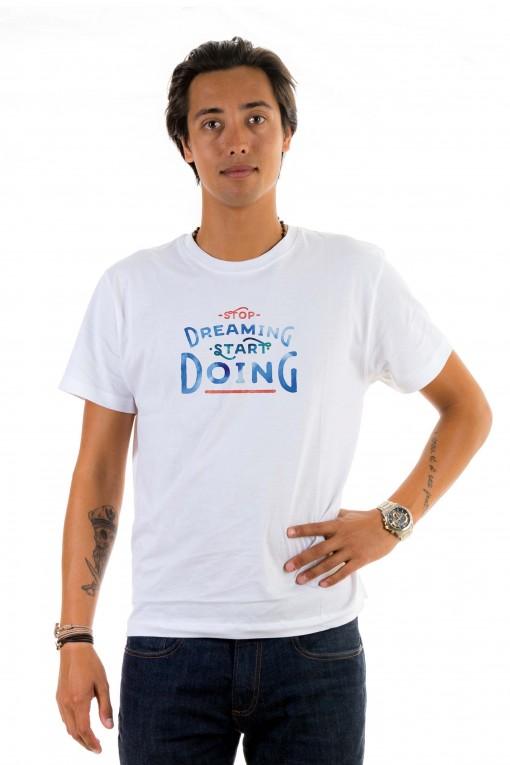 T-shirt Stop Dreaming, Start Doing