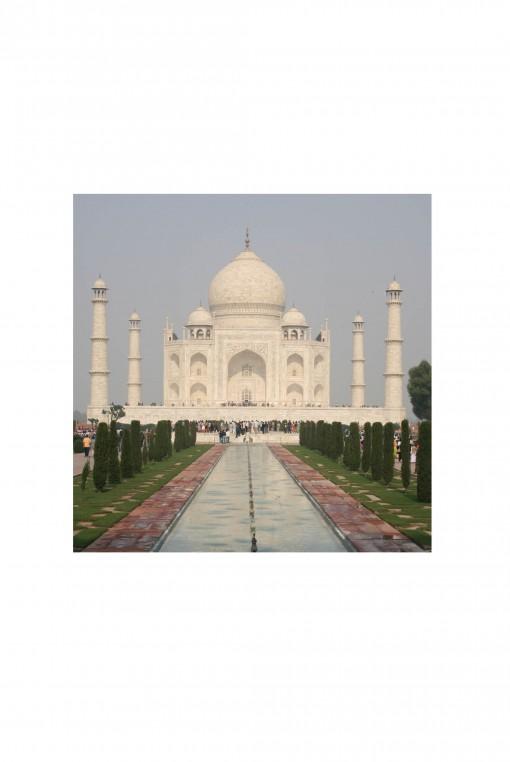 Poster Taj Mahal - India - By Emmanuel Catteau