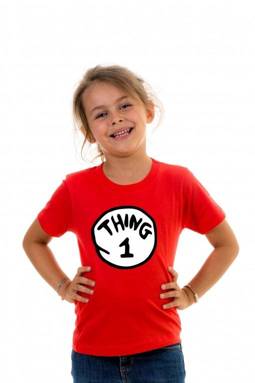 T-shirt kid Thing 1