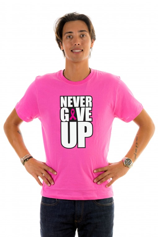 T-shirt Never Give Up