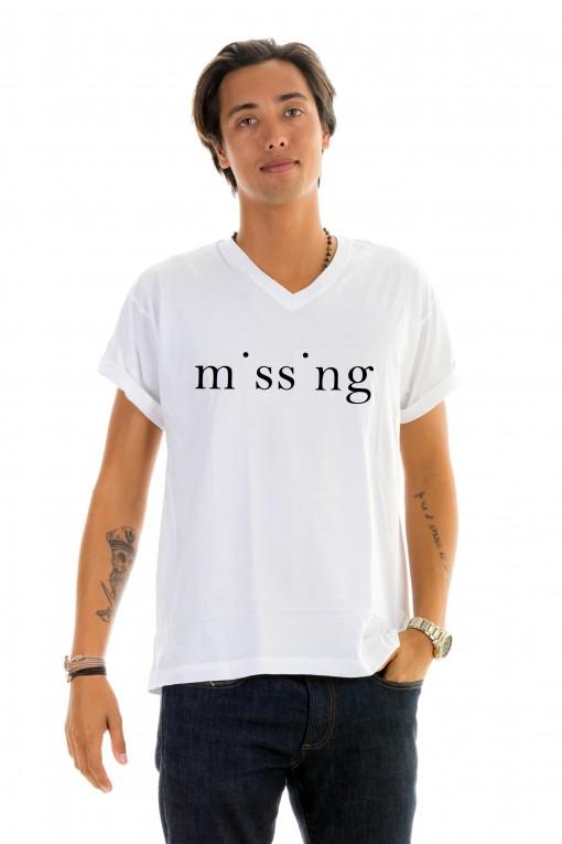 T-shirt v-neck Missing