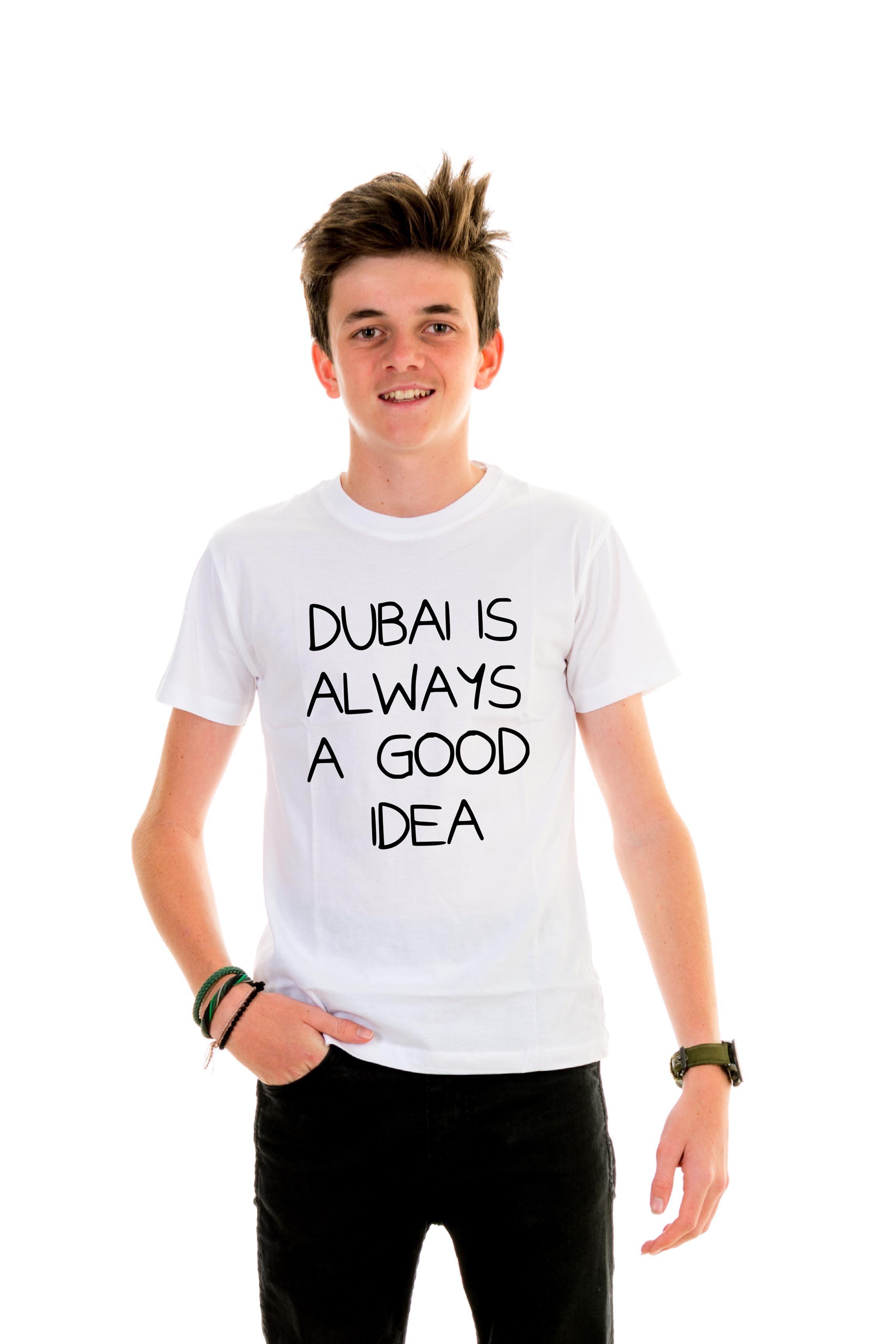 94ea6090d T-shirt Kid Dubai is always a good idea - Kids - T-shirts - Shop