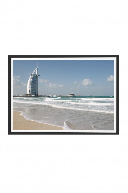 Poster with frame Beach By Emmanuel Catteau