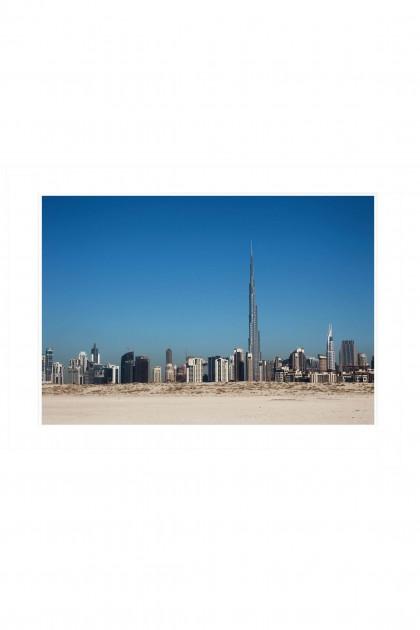 Poster Burj Khalifa By Emmanuel Catteau