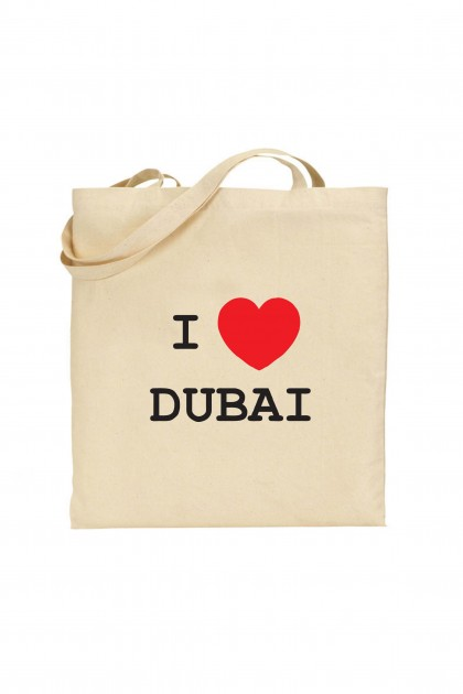Tote bag I Love Dubai