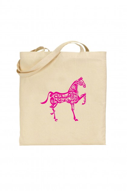 Tote bag Arabic Horse Design