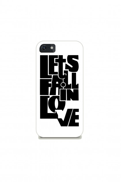Phone case Let's fall in love