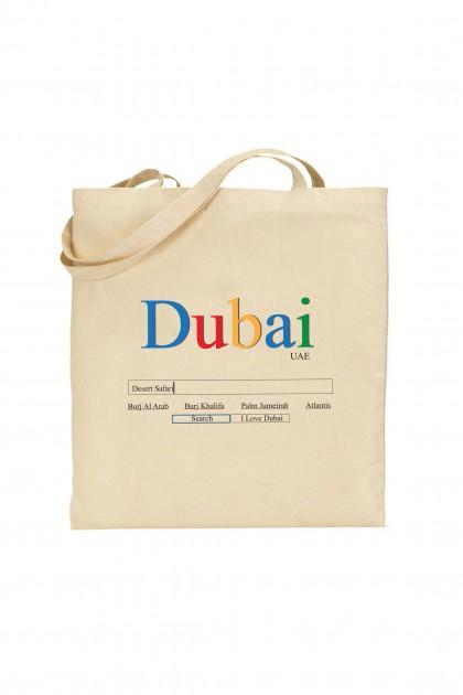 Tote bag Dubai - Google Style