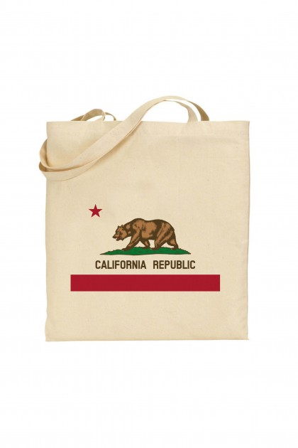 Tote bag California Republic