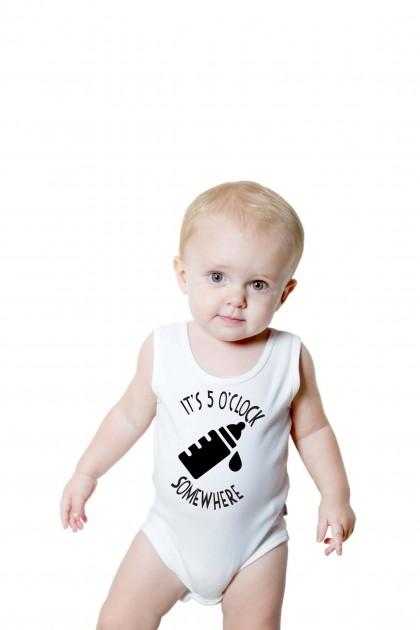 Baby romper 5 O'CLOCK