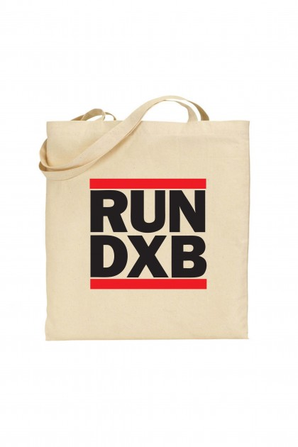 Tote bag RUN DXB