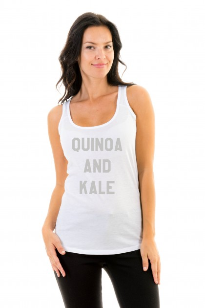 Tanktop Quinoa and kale