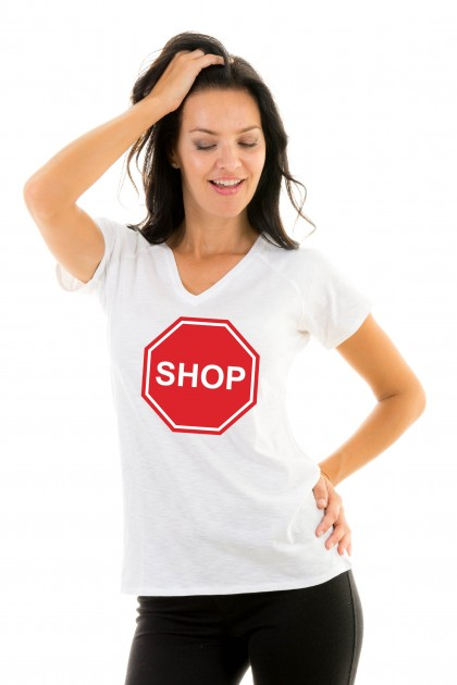 T-shirt v-neck Shop