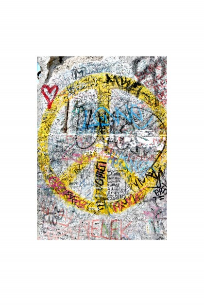 Poster Berlin Wall By Emmanuel Catteau