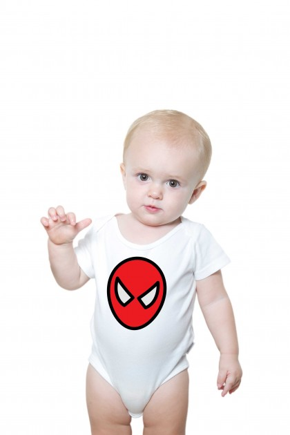 Baby romper Spiderman Illustration