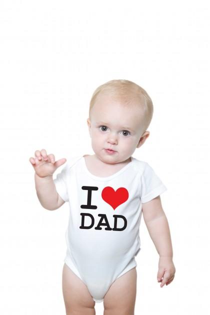Baby romper I Love Dad