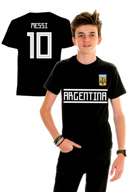 T-shirt World Cup 2018 kids - Argentina, Messi 10