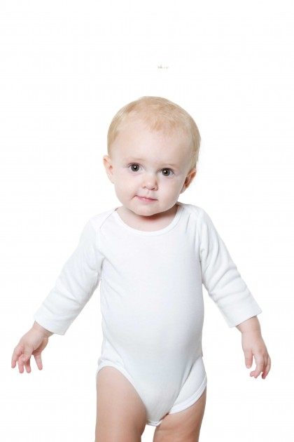 1. Baby romper for Custom - White - Starting 65 AED