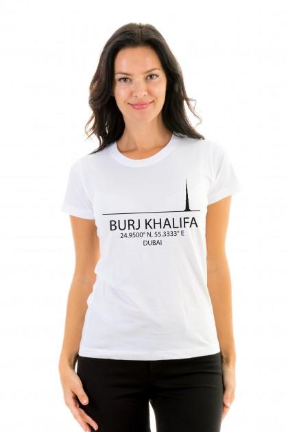 T-shirt Burj Khalifa - Dubai, UAE