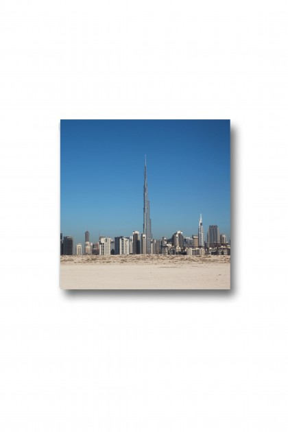 Canvas Burj Khalifa By Emmanuel Catteau