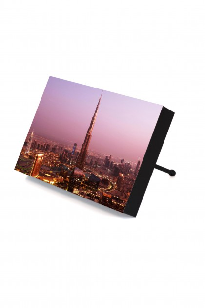 Frame to go Burj Khalifa Night By Emmanuel Catteau