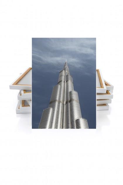 Canvas Burj Khalifa Tower - Dubai - UAE By Emmanuel Catteau
