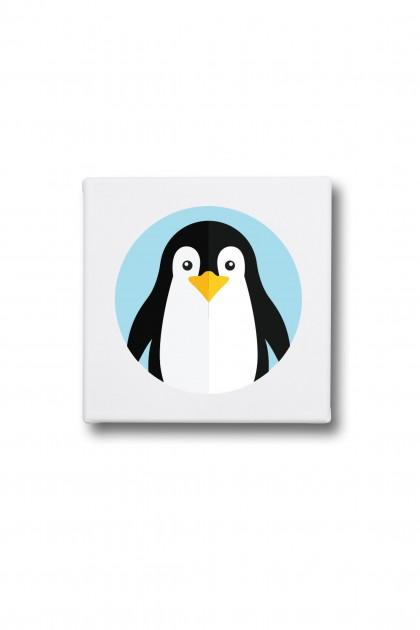 Canvas Pingouin