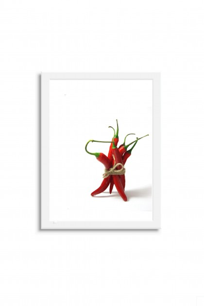Poster with frame Chili