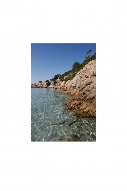 Poster Clear Waters - Corsica By Emmanuel Catteau