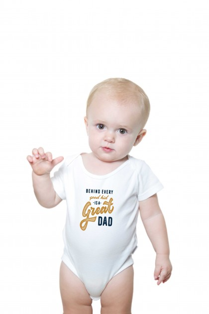 Baby romper Great Dad