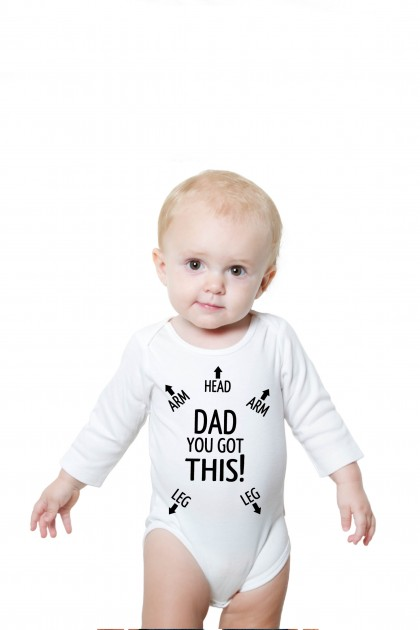 Baby romper Dad You Got This!