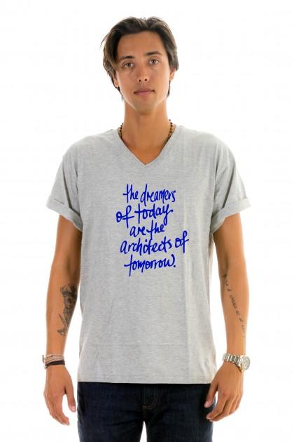 T-shirt v-neck The dreamers
