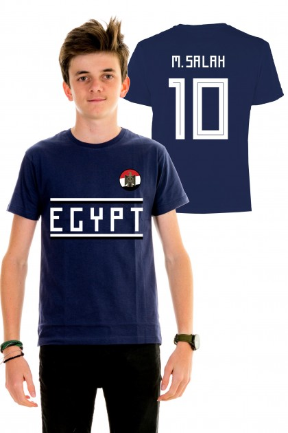 T-shirt World Cup 2018 kids - Egypt, M. Salah 10